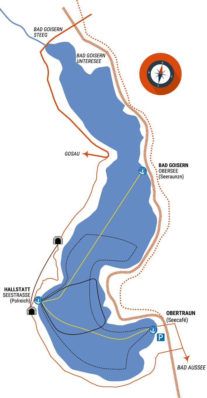 NAVIA Routen-Karte 2020